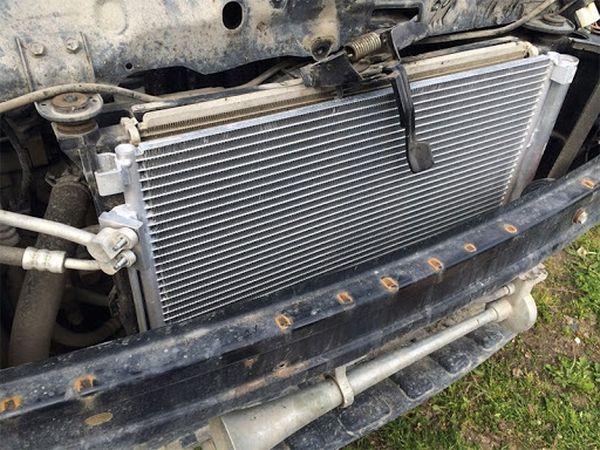 Радиатор кондиционера для автомобиля